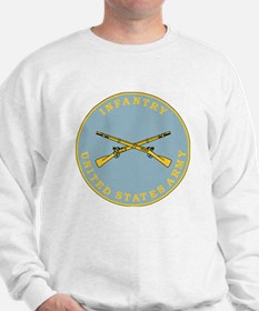 Army-Infantry-Branch-Plaque-Bonnie.gif Sweatshirt
