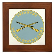 Army-Infantry-Branch-Plaque-Bonnie.gif Framed Tile