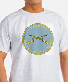 Army-Infantry-Branch-Plaque-Bonnie.g T-Shirt