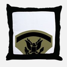 Army-Spec5-Subdued.gif Throw Pillow