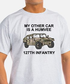 ARNG-127th-Infantry-My-Other-Car.gif T-Shirt