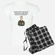 Army-Humor-Eligible-Bachelo Pajamas