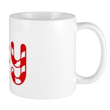 Riley - Candy Cane Coffee Mug