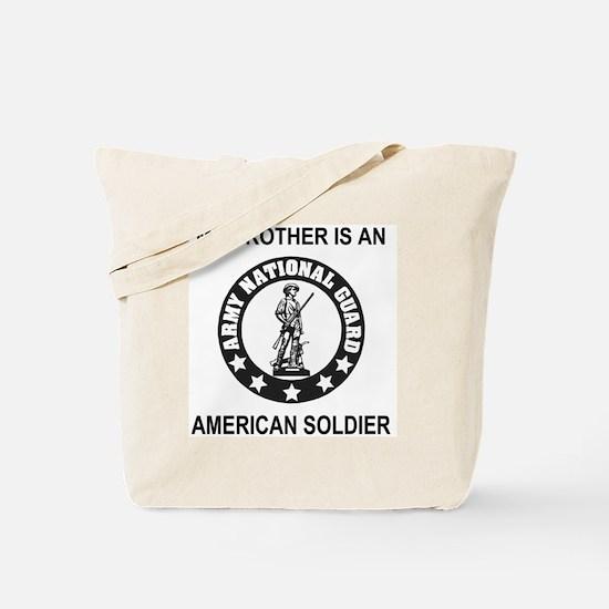 ARNG-My-Brother-Black.gif Tote Bag