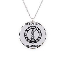 ARNG-My-Son-Black.gif Necklace Circle Charm