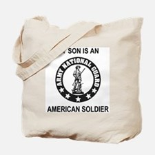 ARNG-My-Son-Black.gif Tote Bag