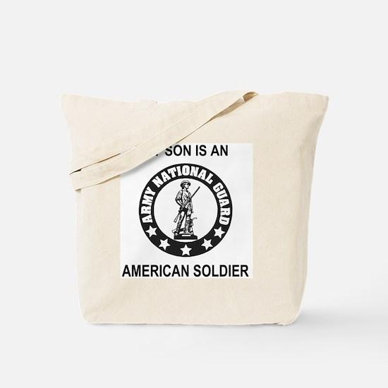 ARNG-My-Son-Black.gif Tote Bag