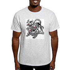 ARNG-127th-Infantry-HHC-Hellhound-Bl T-Shirt