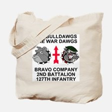 ARNG-127th-Infantry-B-Co-Shirt-5.gif Tote Bag
