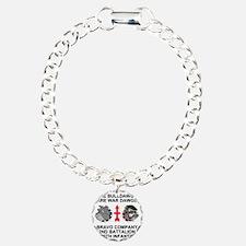 ARNG-127th-Infantry-B-Co Charm Bracelet, One Charm