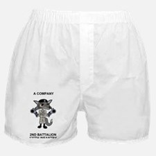 ARNG-127th-Infantry-A-Co-Sticker-2.gi Boxer Shorts