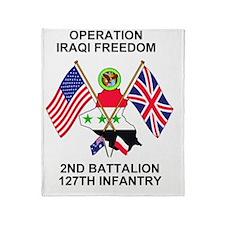 ARNG-127th-Infantry-Iraq-Mousepad.gi Throw Blanket