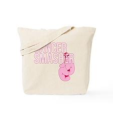 Cancer Smasher Pink Tote Bag