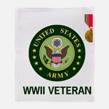 Army-WWII-Shirt-2.gif Throw Blanket