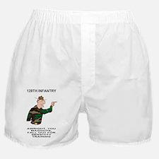ARNG-128th-Infantry-Sensitivity-Poste Boxer Shorts
