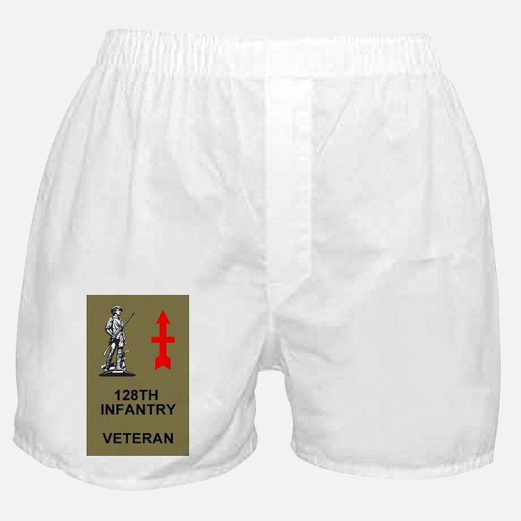 ARNG-128th-Infantry-Veteran-Sticker.g Boxer Shorts