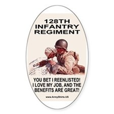 ARNG-128th-Infantry-You-Bet-Poster. Decal