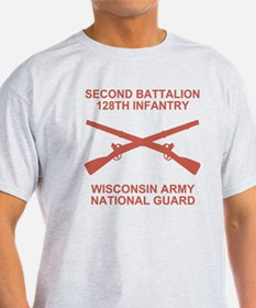 ARNG-128th-Infantry-2nd-Bn-Shirt-6-S T-Shirt