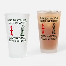 ARNG-128th-Infantry-2nd-Bn-Veteran- Drinking Glass