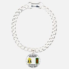 ARNG-128th-Infantry-WWII Charm Bracelet, One Charm