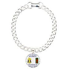 ARNG-128th-Infantry-WWII Charm Bracelet, One Charm