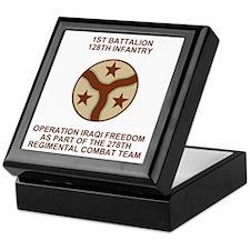 ARNG-128th-Infantry-1st-Bn-Iraq-Shirt Keepsake Box