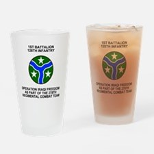 ARNG-128th-Infantry-1st-Bn-Iraq-Shi Drinking Glass