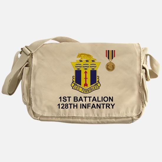 ARNG-128th-Infantry-1st-Bn-Iraq-Shir Messenger Bag