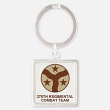 ARNG-278th-RCT-Shirt-Subdued.gif Square Keychain