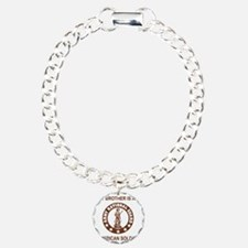 ARNG-My-Brother-Brown.gi Charm Bracelet, One Charm