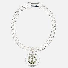 ARNG-My-Brother-Avocado. Charm Bracelet, One Charm