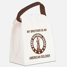 ARNG-My-Brother-Brown.gif Canvas Lunch Bag