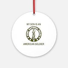 ARNG-My-Son-Avocado.gif Round Ornament