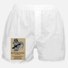 ARNG-128th-Infantry-2nd-Bn-D-Co-Poste Boxer Shorts