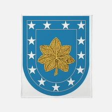 Army-Maj-Beret.gif Throw Blanket