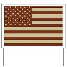 American-Flag-Desert.gif Yard Sign