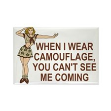 Misc-I-Wear-Camouflage-Brown.gif Rectangle Magnet