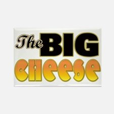 Big Cheese Rectangle Magnet
