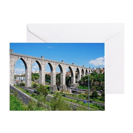 Aqueduct of the Free Waters Greeting Card