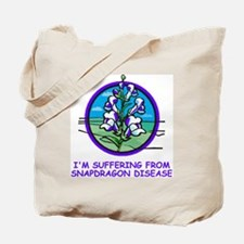 Misc-Snapdragon-Shirt-1-Blue.gif Tote Bag