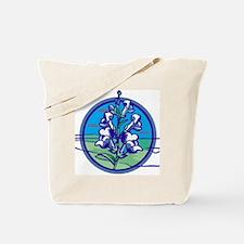 Misc-Snapdragon-Shirt-3-Back-Blue.gif Tote Bag