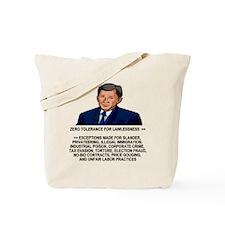 Bush-Zero-Tolerance-Value-Shirt.gif Tote Bag