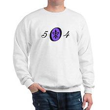 Fleur 504, purple Sweatshirt