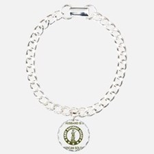ARNG-My-Husband-Avocado. Charm Bracelet, One Charm
