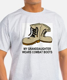 Combat-Boots-My-Granddaughter.gif T-Shirt