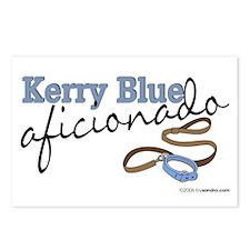 Kerry Blue Aficionado Postcards (Package of 8)