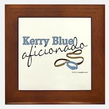 Kerry Blue Aficionado Framed Tile