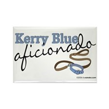 Kerry Blue Aficionado Rectangle Magnet (100 pack)
