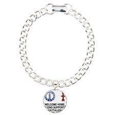 ARNG-132nd-Support-Bn-We Charm Bracelet, One Charm