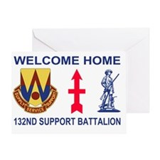 ARNG-132nd-Support-Bn-Welcome-Home-P Greeting Card